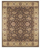 RugStudio presents Feizy Drake 6049f Brown/Beige Hand-Knotted, Best Quality Area Rug