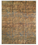 RugStudio presents Feizy Verdigris 7158f Blue/Multi Hand-Knotted, Best Quality Area Rug
