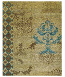 RugStudio presents Rugstudio Sample Sale 99924R Camel Hand-Knotted, Best Quality Area Rug