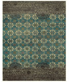 RugStudio presents Feizy Qing 6066f Silver Sage Hand-Knotted, Best Quality Area Rug