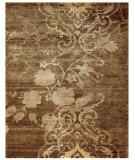RugStudio presents Feizy Qing 6067f Brown Hand-Knotted, Best Quality Area Rug