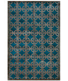 RugStudio presents Feizy Dim Sum 6071f Azure Hand-Knotted, Best Quality Area Rug