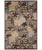 RugStudio presents Feizy Saphir 3784f Ivory/Dark Gray Machine Woven, Good Quality Area Rug