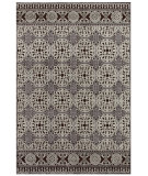 RugStudio presents Feizy Saphir 3786f Dark Chocolate / Silver Machine Woven, Good Quality Area Rug