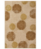 RugStudio presents Feizy Saphir 3795f Ivory Machine Woven, Good Quality Area Rug