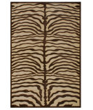 RugStudio presents Feizy Saphir 3796f Ivory/Chocolate Machine Woven, Good Quality Area Rug