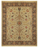 RugStudio presents Feizy Goshen 0637f Gold/Brown Hand-Knotted, Best Quality Area Rug