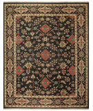 RugStudio presents Rugstudio Sample Sale 99831R Black Hand-Knotted, Best Quality Area Rug