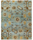 RugStudio presents Feizy Amzad 6113f Light Blue Hand-Knotted, Best Quality Area Rug