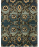 RugStudio presents Feizy Amzad 6116f Azure Hand-Knotted, Best Quality Area Rug