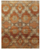 RugStudio presents Rugstudio Sample Sale 99717R Rust Hand-Knotted, Best Quality Area Rug
