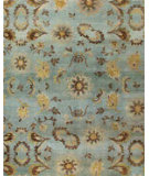 RugStudio presents RugStudio Transitional 44550 Light Blue Hand-Knotted, Best Quality Area Rug