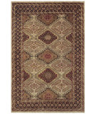 RugStudio presents Feizy Ashi 6127f Camel/Brown Hand-Knotted, Good Quality Area Rug