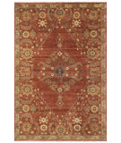 RugStudio presents Rugstudio Sample Sale 99728R Rust Hand-Knotted, Good Quality Area Rug