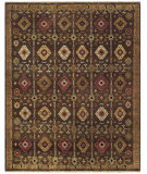 RugStudio presents Feizy Ashi 6129f Brown Hand-Knotted, Good Quality Area Rug