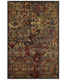 RugStudio presents Feizy Saphir Azar 3096f Dark Chocolate / Rust Machine Woven, Good Quality Area Rug