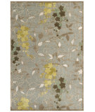 RugStudio presents Feizy Saphir Mah 3113f Pewter / Sage Machine Woven, Good Quality Area Rug