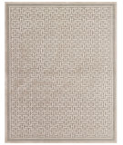 RugStudio presents Feizy Saphir Zam 3097f Pewter / Light Gray Machine Woven, Good Quality Area Rug