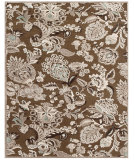 RugStudio presents Feizy Saphir Zam 3112f Coffee / Gray Machine Woven, Good Quality Area Rug