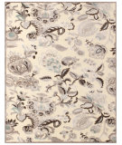 RugStudio presents Feizy Saphir Zam 3112f Cream/Gray Machine Woven, Good Quality Area Rug