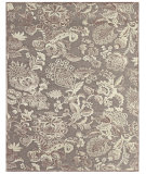 RugStudio presents Feizy Saphir Zam 3112f Pewter / Gray Machine Woven, Good Quality Area Rug