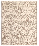 RugStudio presents Feizy Saphir Zam 3115f Cream/Gray Machine Woven, Good Quality Area Rug