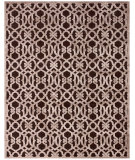 RugStudio presents Feizy Saphir Zam 3202f Dark Chocolate / Gray Machine Woven, Good Quality Area Rug