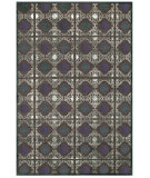 RugStudio presents Feizy Saphir Callo 3258f Dark Gray / Charcoal Machine Woven, Good Quality Area Rug