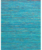 RugStudio presents Rugstudio Sample Sale 99718R Aqua Hand-Knotted, Better Quality Area Rug
