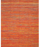 RugStudio presents Feizy Arushi 0504f Orange / Multi Hand-Knotted, Better Quality Area Rug