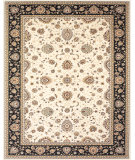 RugStudio presents Feizy Daria 3981f Cream/Navy Machine Woven, Best Quality Area Rug