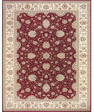 RugStudio presents Feizy Daria 3981f Red/Cream Machine Woven, Best Quality Area Rug