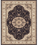 RugStudio presents Feizy Daria 3982f Navy/Cream Machine Woven, Best Quality Area Rug