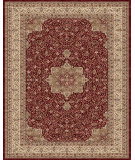 RugStudio presents Feizy Daria 3983f Red/Cream Machine Woven, Best Quality Area Rug