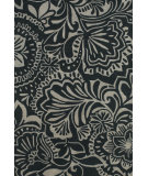 RugStudio presents Feizy Portico 8496f Gray / Black Hand-Tufted, Good Quality Area Rug