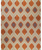 RugStudio presents Feizy Tamar 0653f Tan / Rust Hand-Knotted, Best Quality Area Rug