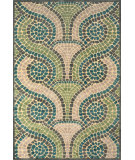 RugStudio presents Feizy Saphir Yardley 3656f Cream / Dark Gray Machine Woven, Good Quality Area Rug