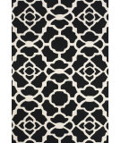 RugStudio presents Feizy Cetara 4106f Black / White Hand-Hooked Area Rug