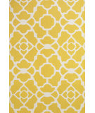 RugStudio presents Feizy Cetara 4106f Yellow / White Hand-Hooked Area Rug