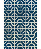 RugStudio presents Feizy Cetara 4109f Cobalt / White Hand-Hooked Area Rug
