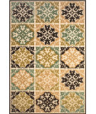RugStudio presents Feizy Lucka 3445f Sand / Brown Machine Woven, Good Quality Area Rug