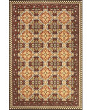 RugStudio presents Feizy Lucka 3446f Sand / Terra Cotta Machine Woven, Good Quality Area Rug