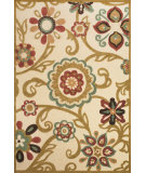 RugStudio presents Feizy Lucka 3447f Sand / Light Gold Machine Woven, Good Quality Area Rug