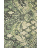 RugStudio presents Feizy Coronado 0520f Gray/Green Hand-Tufted, Better Quality Area Rug
