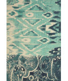 RugStudio presents Feizy Coronado 0521f Teal/Navy Hand-Tufted, Better Quality Area Rug