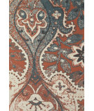 RugStudio presents Feizy Coronado 0522f Orange / Blue Hand-Tufted, Better Quality Area Rug