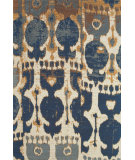 RugStudio presents Feizy Coronado 0525f Navy/Copper Hand-Tufted, Better Quality Area Rug