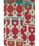 RugStudio presents Feizy Coronado 0525f Red/Teal Hand-Tufted, Better Quality Area Rug