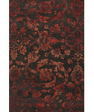 RugStudio presents Feizy Mahsa 8402f Chocolate / Red Hand-Tufted, Best Quality Area Rug