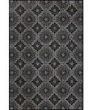 RugStudio presents Feizy Azeri 3843f Black / Ecru Machine Woven, Good Quality Area Rug
